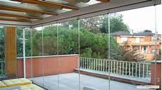 chiudere terrazza con vetro photogallery balconi e terrazzi