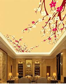 flower wallpaper ceiling aliexpress buy simple flower ceiling custom photo