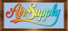 air supply logo in rainbow colores air supply logos artwork