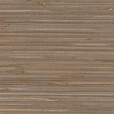 Brown And Gray Grasscloth Wallpaper