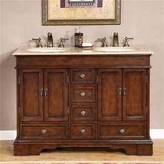 Small Bathroom Vanities Without Tops by 48 Inch Small Sink Vanity In Antique Brown With