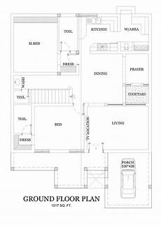 single floor 4 bedroom house plans kerala kerala house plans free 2555 sqft for a 4 bedroom home
