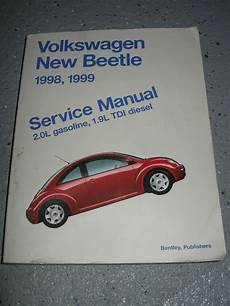 motor repair manual 2005 volkswagen new beetle electronic toll collection 1998 1999 vw new beetle service manual shop 2 0l tdi ebay