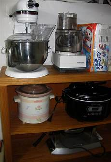 Kitchen Appliances Gift Items by Storing Large Appliances In A Small Kitchen