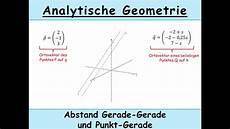 parallelogramm vektoren punkt berechnen abstand punkt