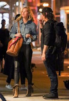 Norman Reedus Frau - exclusive norman reedus out with mystery in nyc