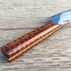 Kitchen Knives Forum Snakewood Frame Handle Kitchen Knife Forums