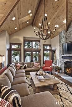 rustic lodge paint colors cabin interior design rustic