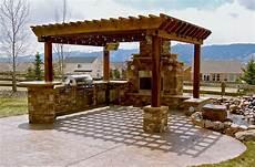 cuisine de jardin en outdoor kitchen ideas barbecue grills pergola