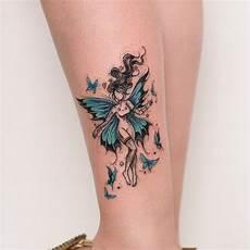 Bein Tattoos Frauen - 1001 ideen f 252 r am fu 223 am kn 246 chel oder an der