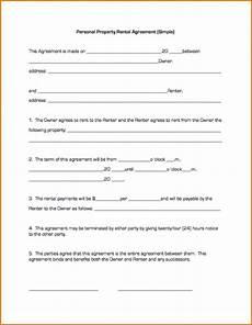 Simple Lease Agreement Emmamcintyrephotography