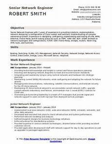 network engineer resume sles qwikresume
