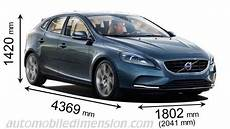 dimension volvo v60 dimensions of volvo cars showing length width and height