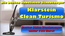 klarstein clean turismo 2in1 kabelloser staubsauger