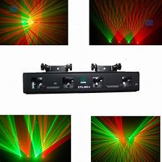 dj lighting equipment 4 lens 250mw rg dmx laser disco dj light stage lighting show equipment ebay