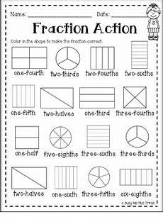 fraction worksheets 2nd grade 3832 fractions book second grade version includes sixths and eighths