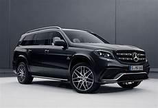 Der Mercedes Amg Gls 63 4matic Blick Auf Die Amg
