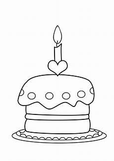 Ausmalbilder Geburtstag Torte Ausmalbilder Geburtstagstorte Zum Ausdrucken