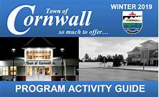 winter 2019 program activity guide town of cornwall