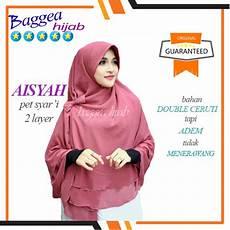 Jilbab Instan Untuk Wajah Bulat Voal Motif
