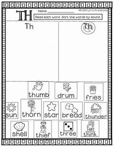 th digraph word sort by kathryn s kreations teachers