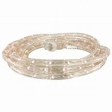 home depot rope lights commercial electric 27 ft white led rope light kit 0018 0006 the home depot