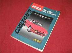how to download repair manuals 1990 ford probe head up display buy chilton s 1989 1992 ford probe repair manual 8266 us canadian models motorcycle in
