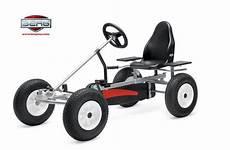 berg basic pedal go kart in silver pedal cars go kart