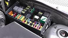 Ford Focus Fuse Relay Box Location