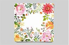flower card design template watercolor greeting card card templates on creative market