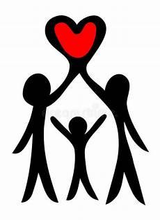 Familie Symbol - family symbol stock vector illustration of element