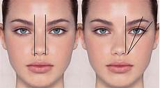 Augenbrauen Formen Gesichtsform - healthy lifestyle eyebrow shapes for your