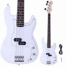 New Brand White 4 String Electric Bass Guitar Ebay