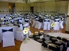 2 wedding decor black embossed simple traditional