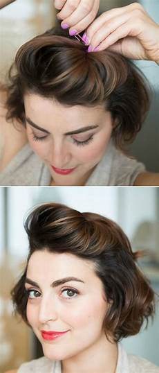 easy formal hairstyles for short hair hairstyle tutorials