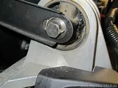kurz anleitung oberes motor lager tauschen volvo s60
