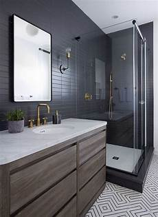 black bathroom tile ideas 25 chic and stylish bathrooms with black walls digsdigs