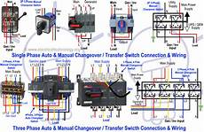 mix 183 how to wire auto manual changeover transfer switch 1 3 phase
