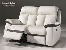 fauteuil relax 233 lectrique cuir blanc fauteuil relax