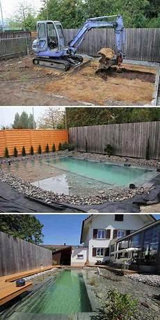 Garten Pool Selber Bauen - diy schwimmteich selber bauen garten schwimmteich