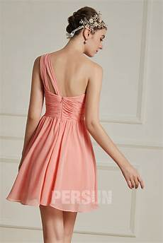 Robe Corail Pour Cocktail Mariage Bustier