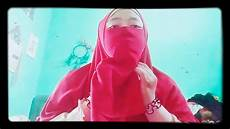 Tutorial Jilbab Pashmina Simple Daily