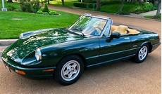 vehicle repair manual 1993 alfa romeo spider instrument cluster 1993 alfa romeo spider quot one family owned quot only 46k quot service records quot near mint classic alfa