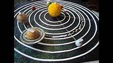 maqueta sistema planetario solar con movimiento bianqui cole