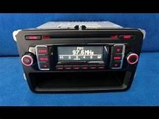 vw rcd 210 mp3 radio autoradio carradio car black