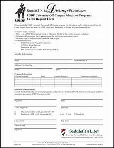 usdf credit request form schleese