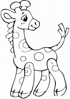 ausmalbilder giraffe 01 ausmalbilder tiere