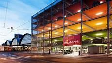 garage frankfurt projekt w completes installation at parking garage in