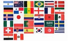 Flaggen Wm 2018 - kleines wm flaggen set 2018 30 x 45 cm flaggenplatz