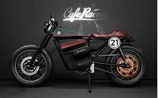 Moto Cafe Racer Electrica